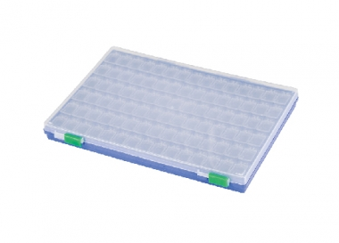 透明微型拼接零件盒